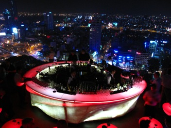 Nightlife for the new rich Ho Chi Ming City