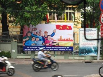 Ho Chi Ming city Propaganda